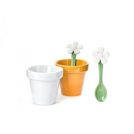 Chávenas de Café Flor