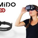 Homido VR Oculos de Realidade Virtual