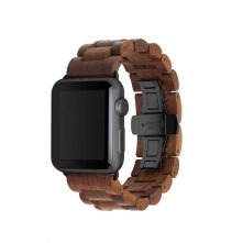 Woodcessories – EcoStrap Watch Band 42/44 (walnut/black)