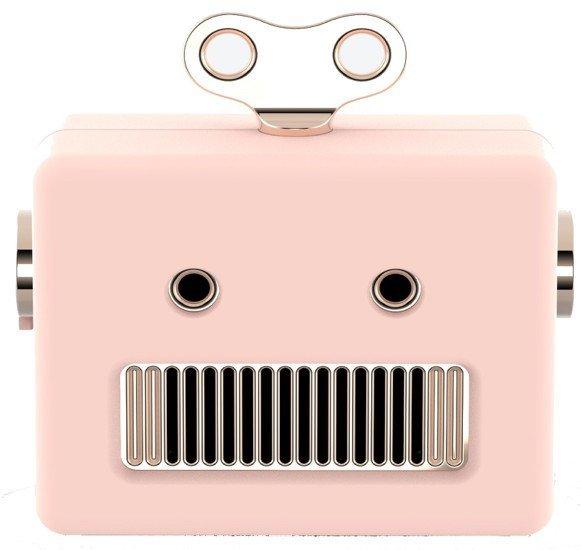 qushini – Bluetooth Robot Speaker (pink)