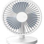 qushini – Desk Fan (white)