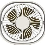 qushini – Mini Desk Fan (white)