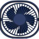 qushini – Mini Desk Fan (blue)