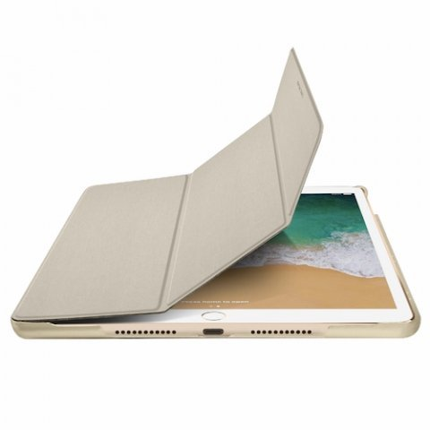 """Macally – BookStand iPad Air 10.5"""" (gold)"""