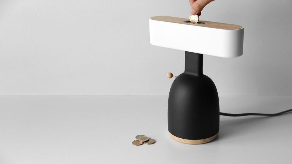 allocacoc – Coin Lamp DINA
