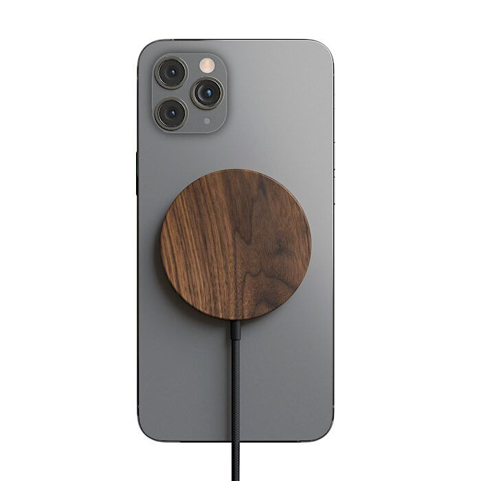 Woodcessories – MagPad Wooden MagSafe Qi charger