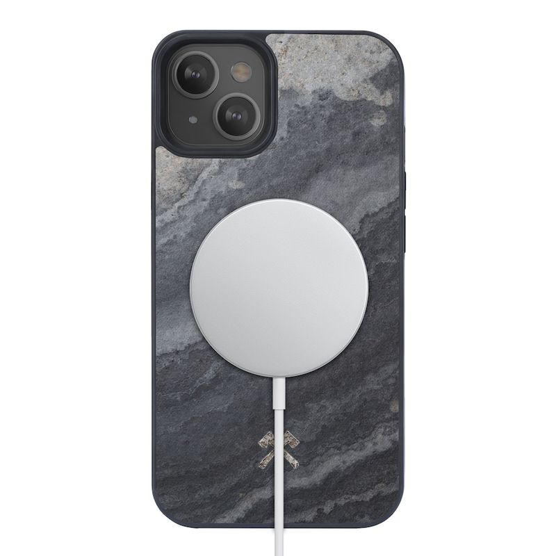 Woodcessories – MagSafe Bumper Stone iPhone 13 mini
